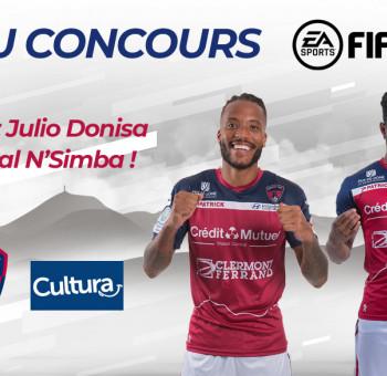 Défiez Vital N'Simba et Julio Donisa à FIFA20 !