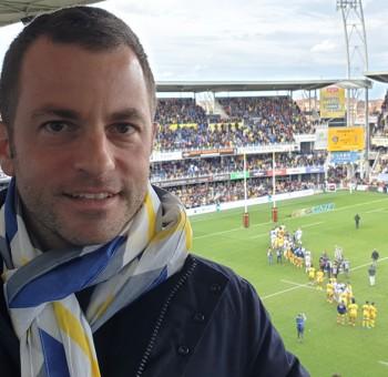 Ahmet Schaefer reçu au stade Marcel-Michelin