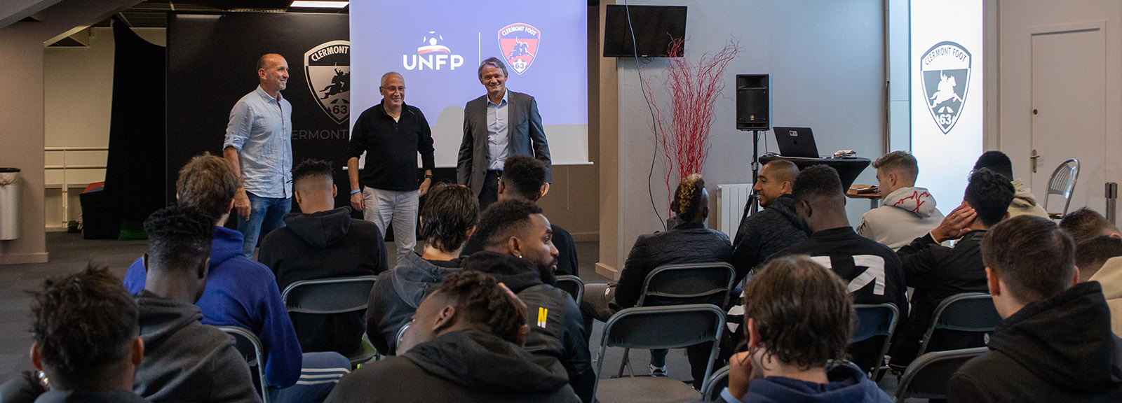 UNFP visit to Clermont Foot – Clermont Foot